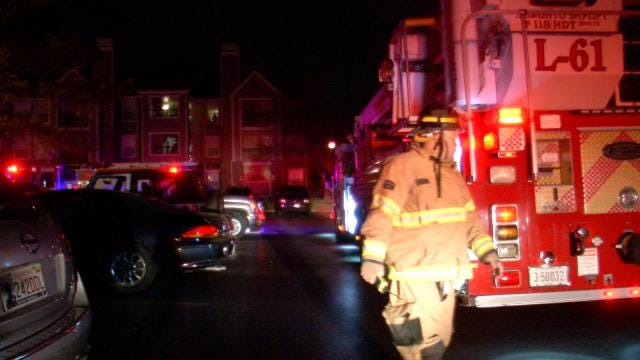 WEB EXTRA: Video From Scene Of Fire At Riverside Park Apartments
