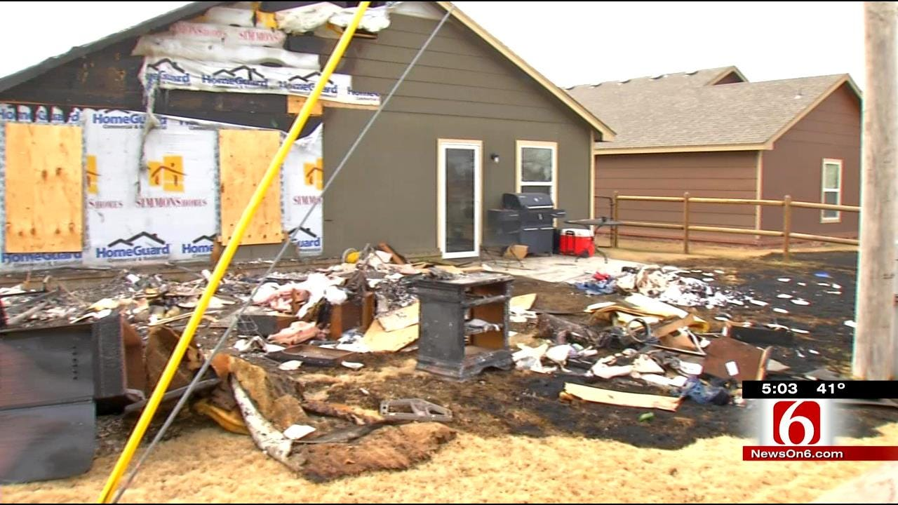Owasso Woman Escapes House Fire With Her Dogs And Bible