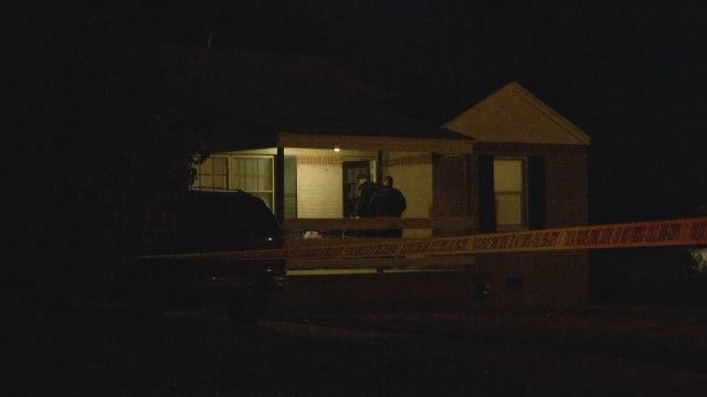 WEB EXTRA: Video From Scene Of Tulsa Homicide On 5th Place