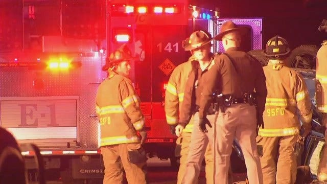 WEB EXTRA: Scenes From Fatal Crash On Highway 412