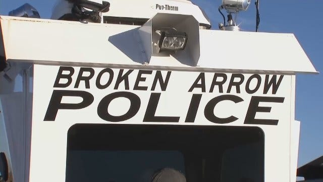 WEB EXTRA: Video Of Broken Arrow Police Department's Observation Tower