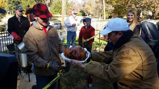 Tulsa Neighborhood Comes Together For Annual 'BevFried Turkey Fry'