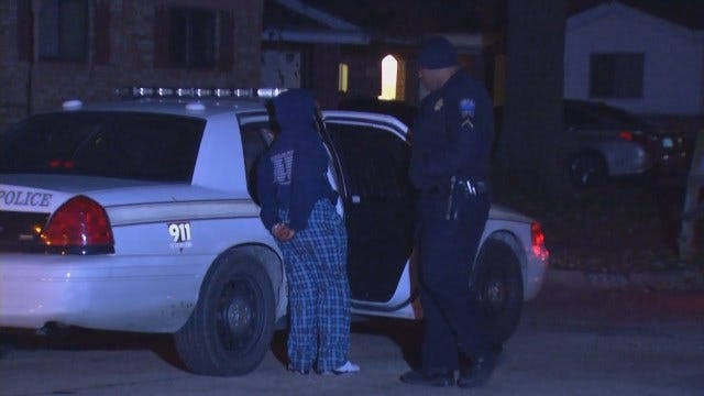 WEB EXTRA: Video From Scene Of East Tulsa Home Invasion