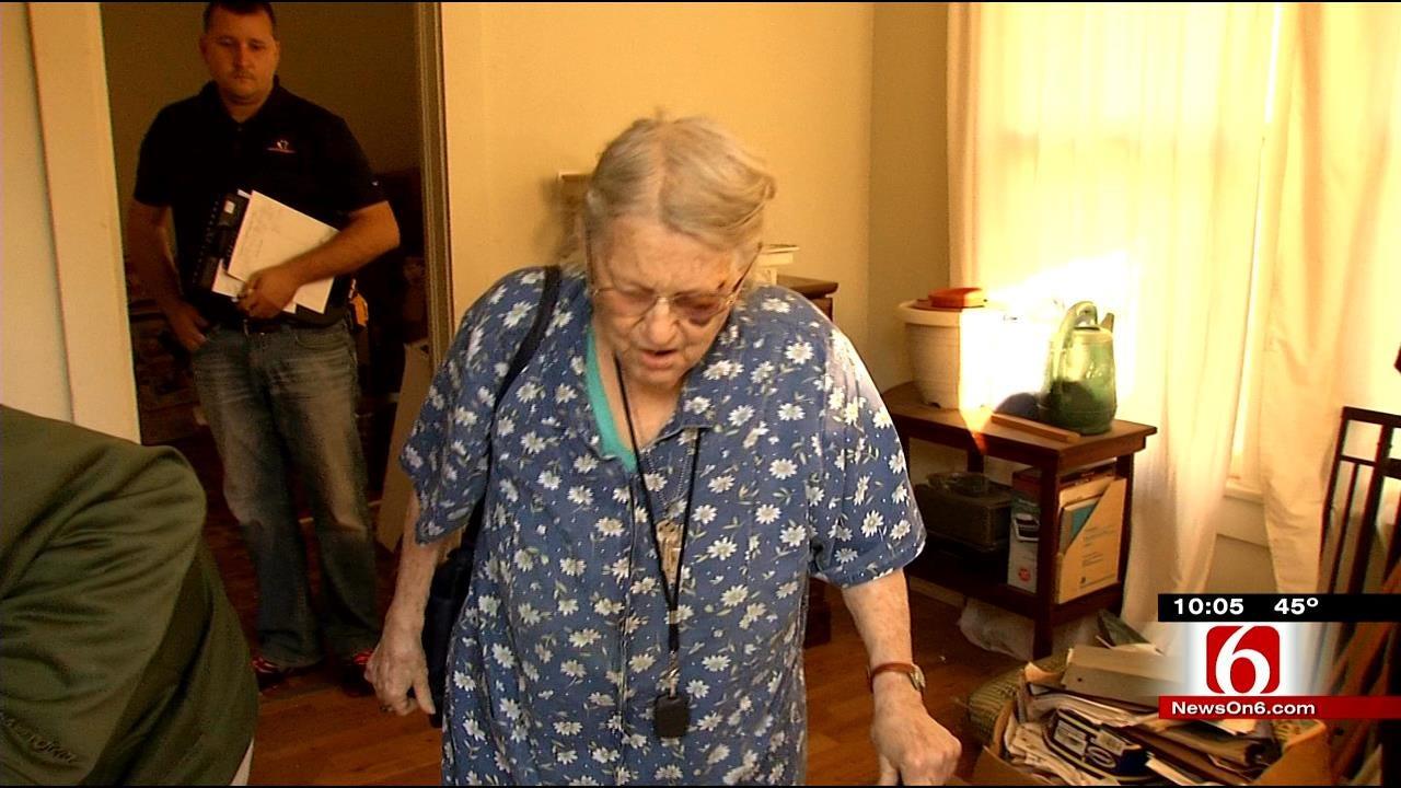 EXCLUSIVE: Elderly Muskogee Woman Tells Of Being Robbed, Beaten