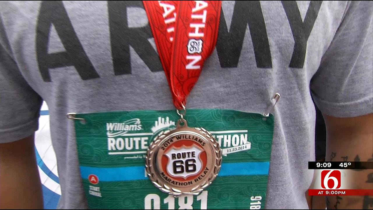 2014 Williams Route 66 Marathon Rolls Through Tulsa