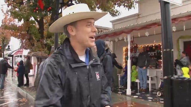 WEB EXTRA: Jenks Christmas Parade Marches On