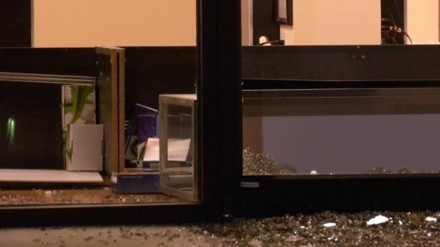 WEB EXTRA: Video From Scene Of Tulsa Cell Phone Repair Store Burglary