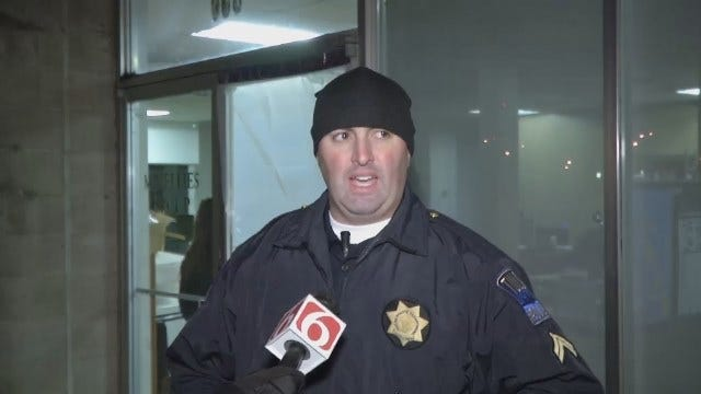 WEB EXTRA: Tulsa Police Cpl. Brandon Disney Talks About Burglary Arrest