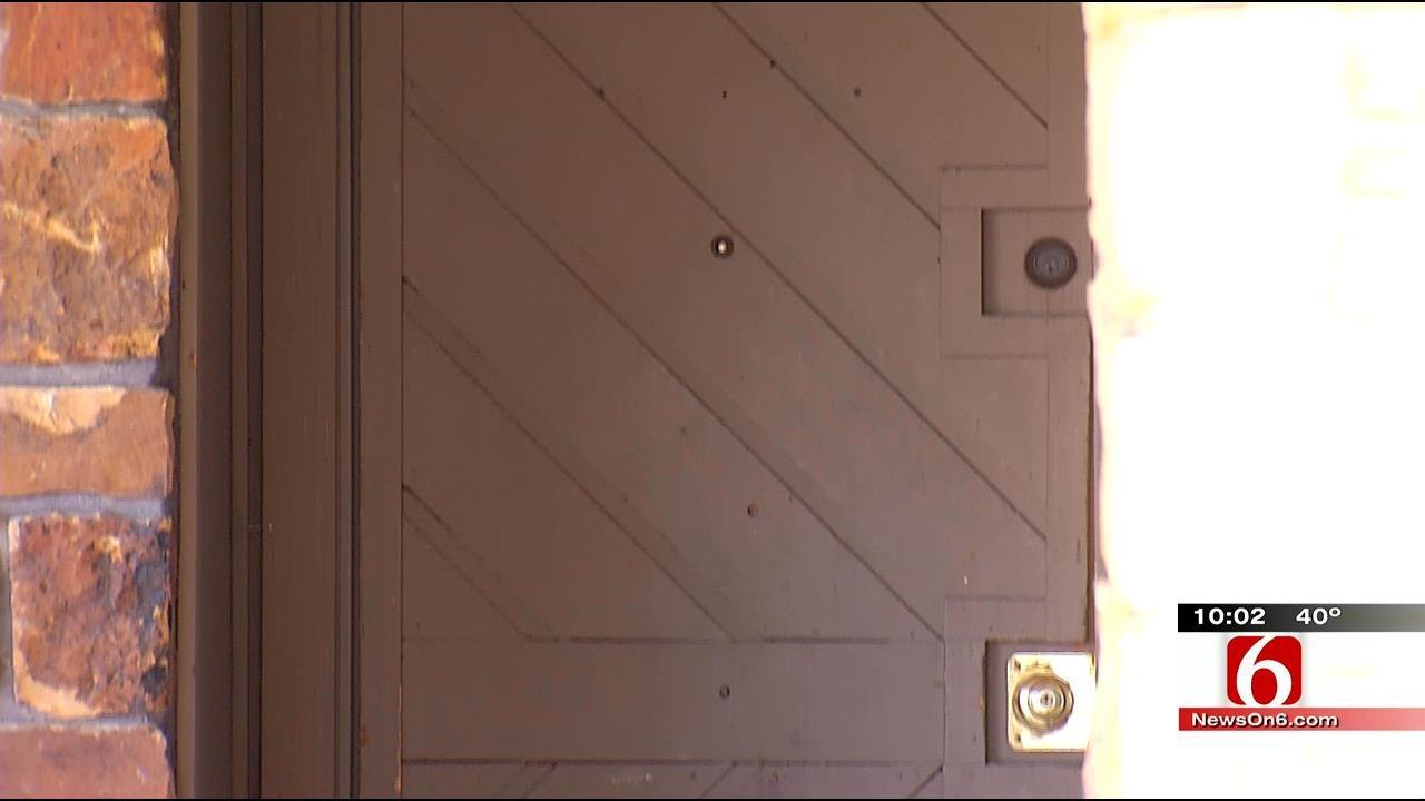 Broken Arrow Dog Recovering After Being Shot Through Front Door