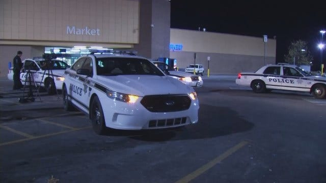 WEB EXTRA: Video From Scene Of Tulsa Walmart Shoplifting Incident