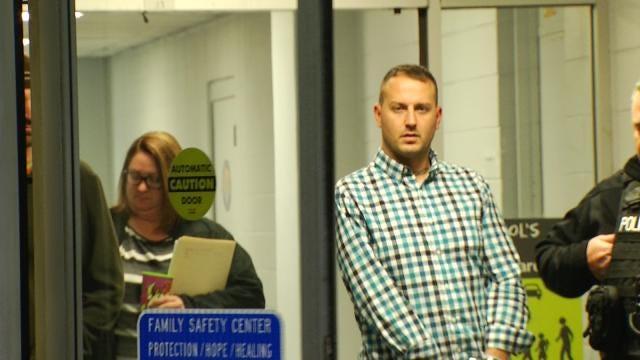 WEB EXTRA: Video Of Garrett Moore Following His Arrest