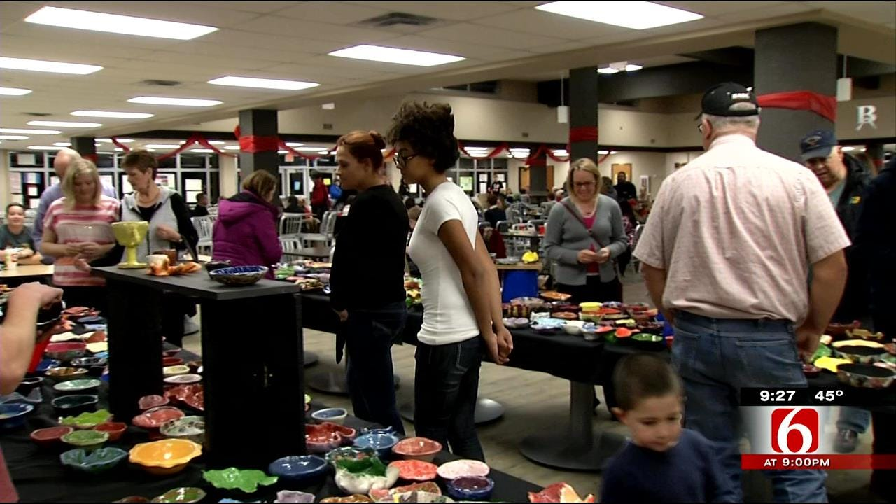 Broken Arrow Students' Empty Bowls Help Oklahomans In Need
