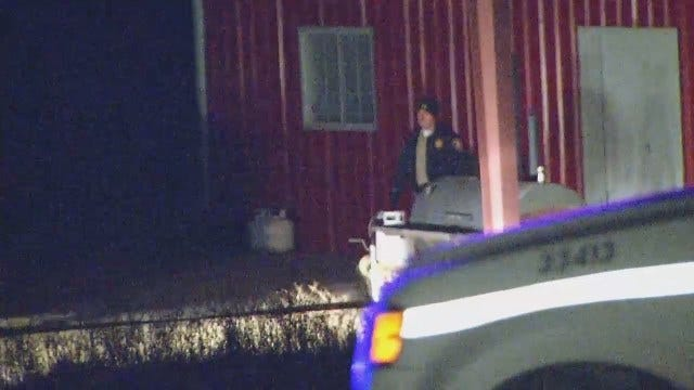 WEB EXTRA: Elderly Couple Found Dead In Creek County