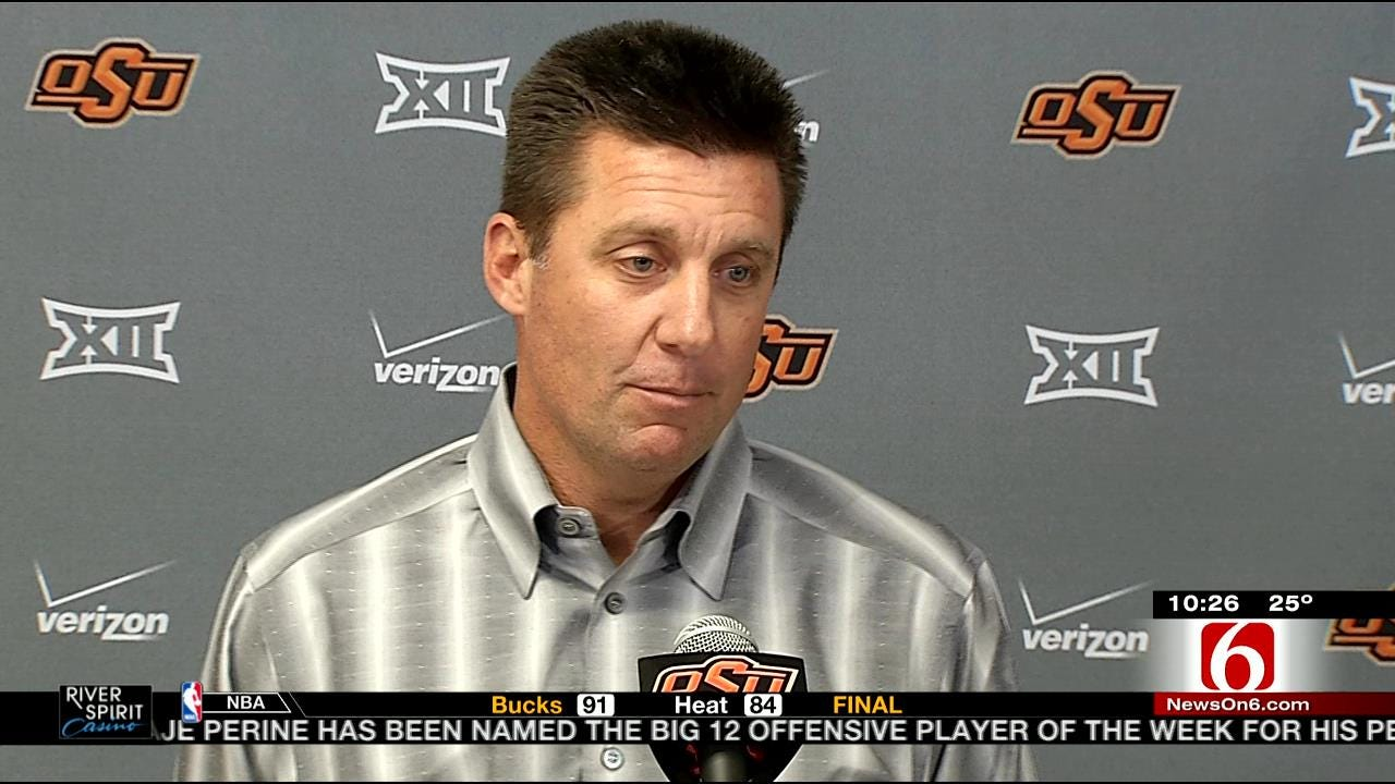 Mike Gundy To Florida? Not So Fast, Says The Coach