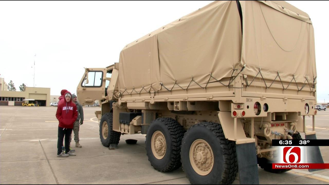 Oklahoma National Guard Hosts Open House At Tulsa Base