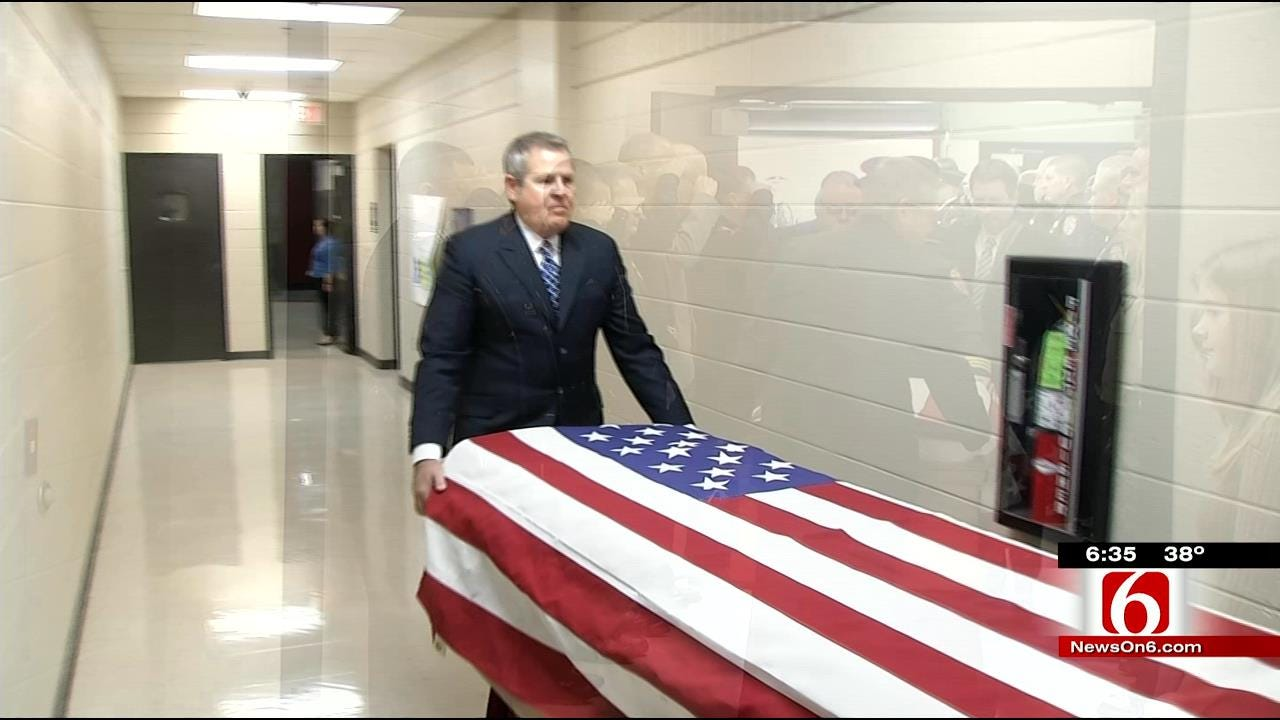 Funeral Held For Owasso Police Officer