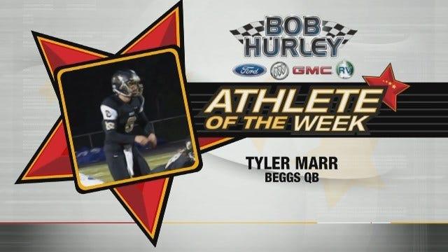 Athlete Of The Week: Begg's Tyler Marr
