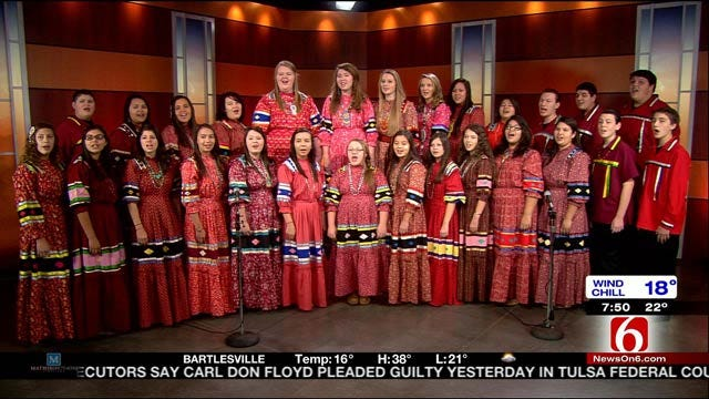 The Cherokee National Youth Choir Sings On 6 In The Morning