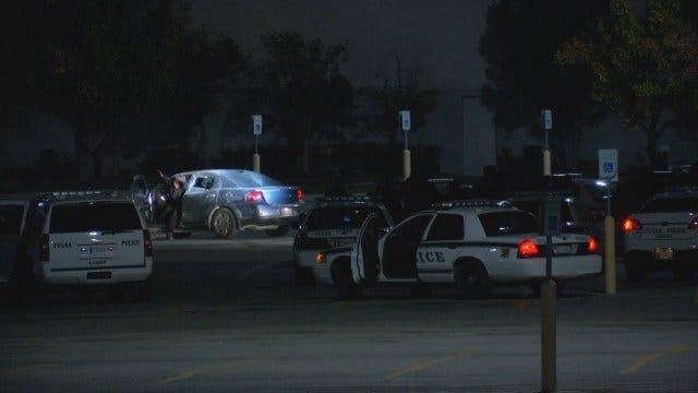 WEB EXTRA: Video Of Tulsa Police Firing Pepper Balls At Car