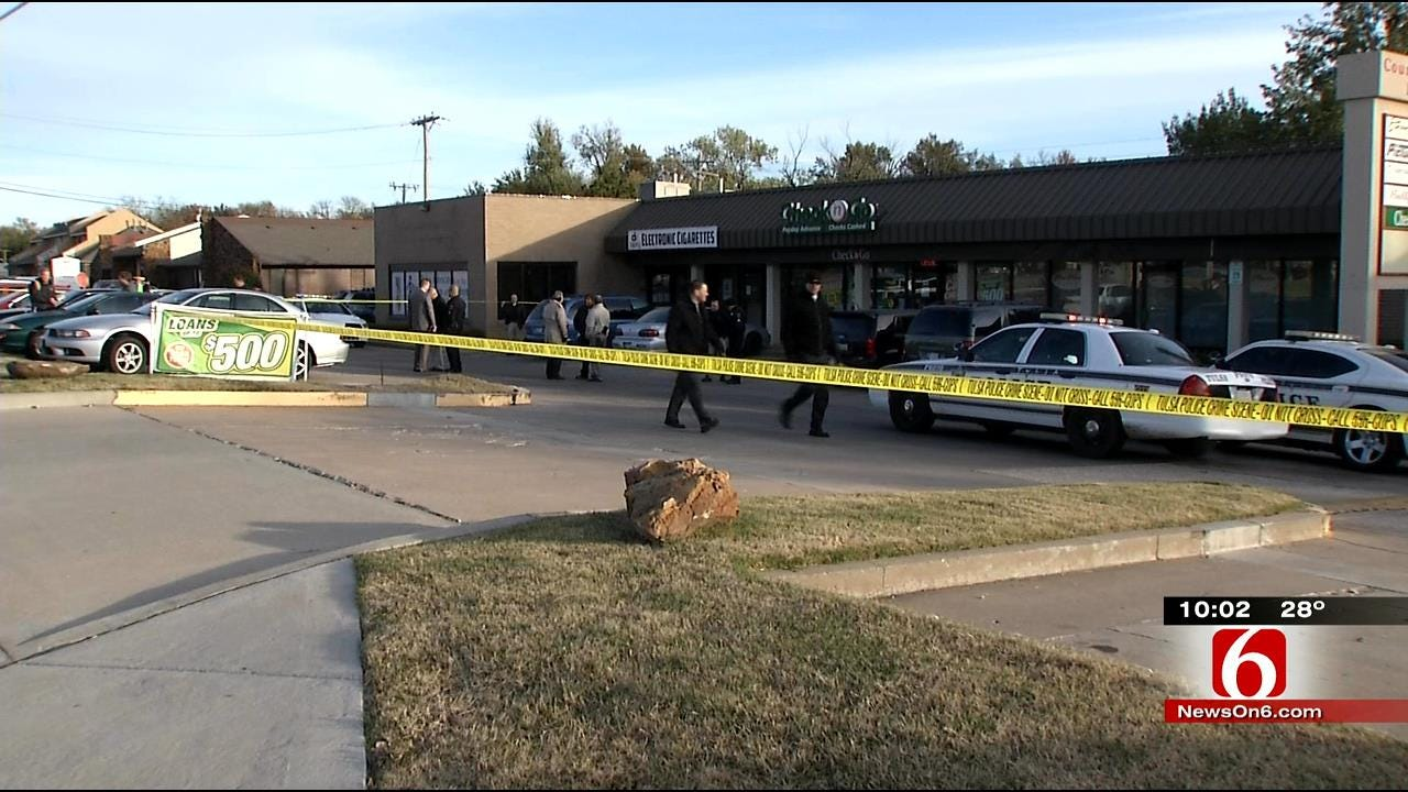 Tulsa Robbery, Officer-Involved Shooting Leave Nearby Families Huddled For Safety
