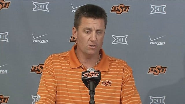 WEB EXTRA: Mike Gundy's Bold Prediction
