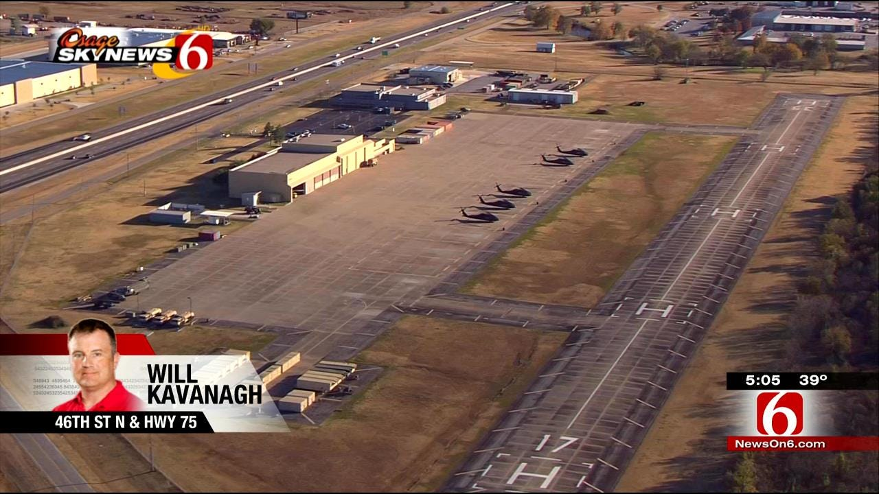 Oklahoma Army National Guard Base Open To Public Saturday, 5K Planned