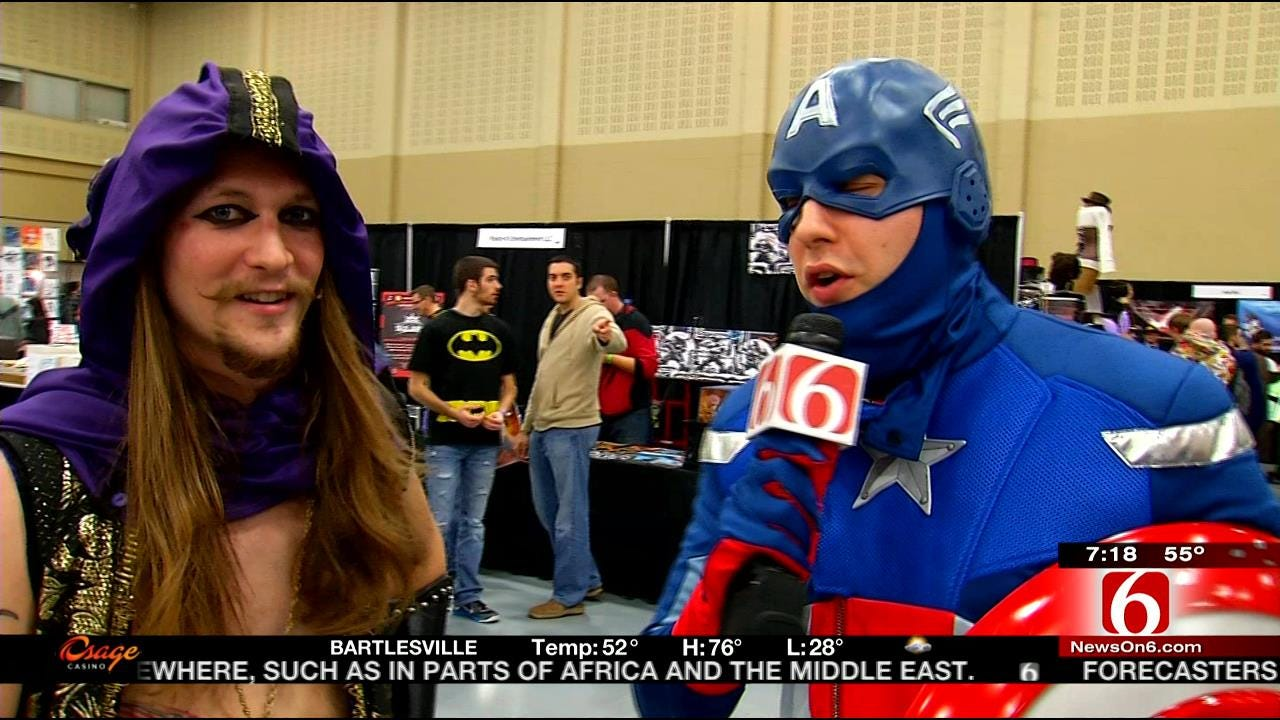 Talking To Fans Who Dressed Up For Tulsa's Comic Con