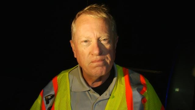 WEB EXTRA: Mounds Assistant Police Chief Craig Murray Talks About Crash