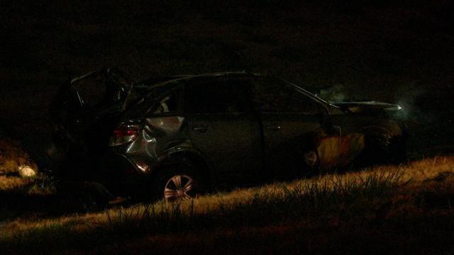 WEB EXTRA: Tulsa Police Officer Pulls Injured Man From Burning SUV