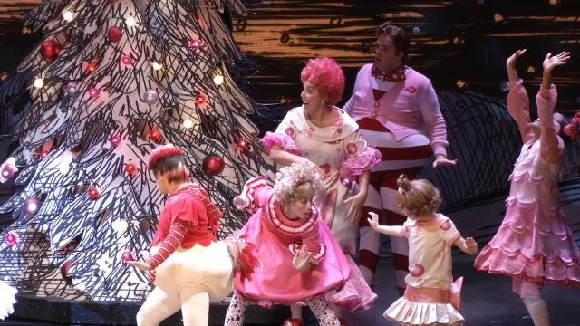 Watch LeAnne Taylor's Visit To Whoville In Dr. Suess' 'How The Grinch Stole Christmas'