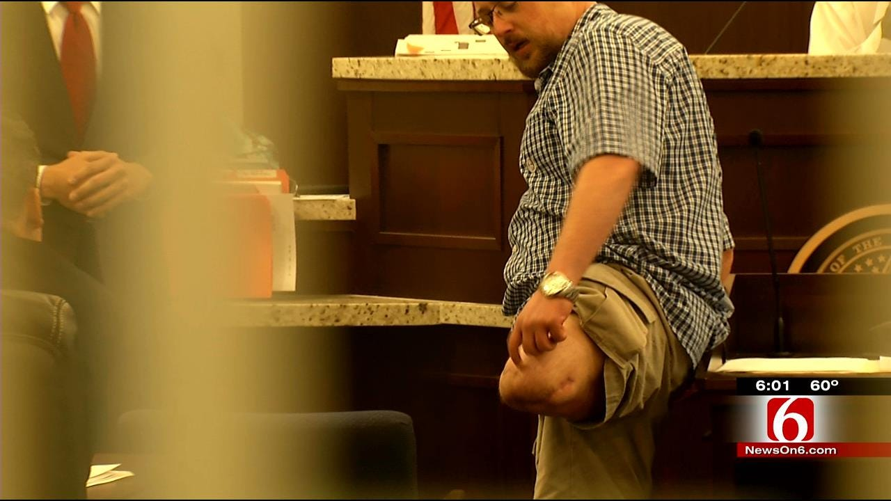 Tulsa Amputee Faces Drunk Driver That Hit Him In Court