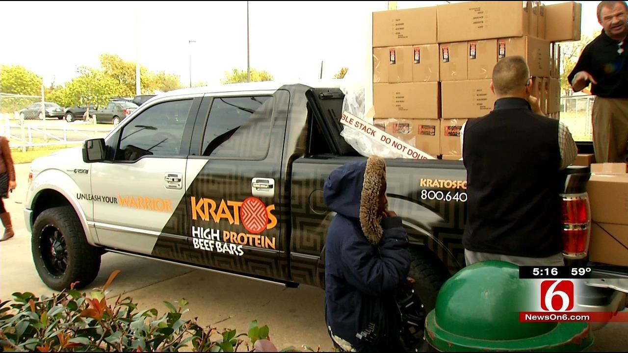 Oklahoma Company Donates Food To Help Feed Hungry, Homeless