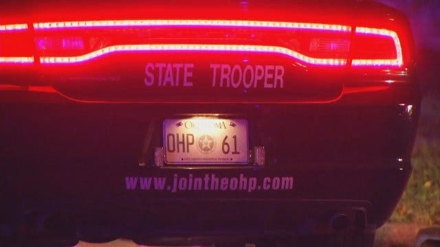 WEB EXTRA: Video From Scene At End Of OHP Chase In Glenpool