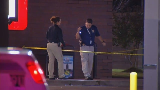WEB EXTRA: Video From Scene Of East Tulsa Officer Involved Shooting