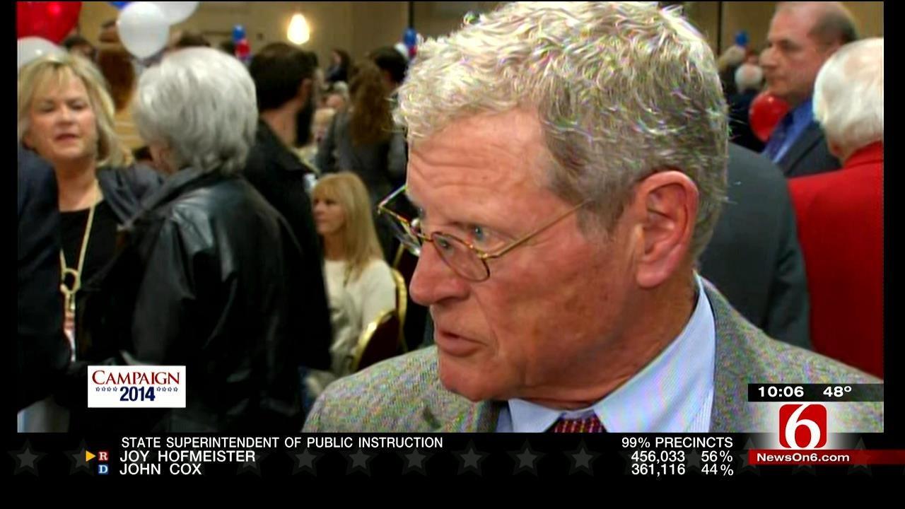 AP: Senator Jim Inhofe Easily Wins Re-Election