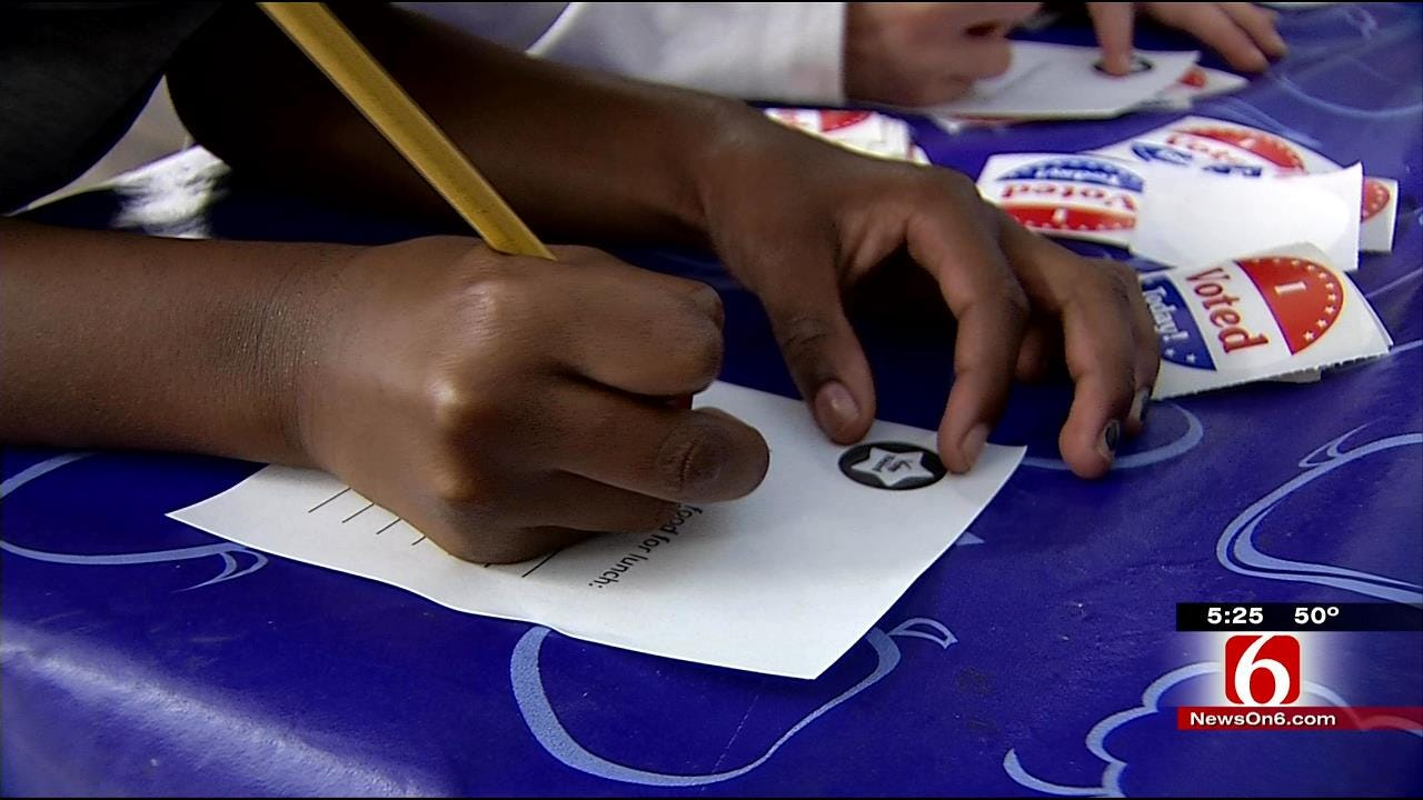 Tulsa Students Cast Ballots For Favorite Lunch