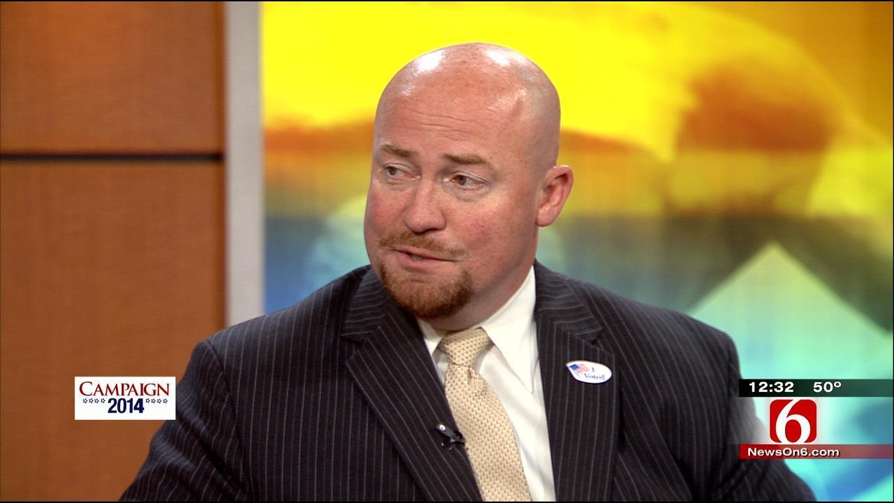 WEB EXTRA: Democratic Candidate For Oklahoma Governor Joe Dorman Interview