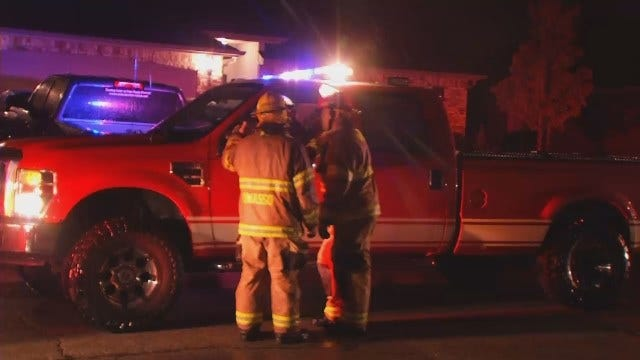 WEB EXTRA: Video From Scene Of Owasso House Fire