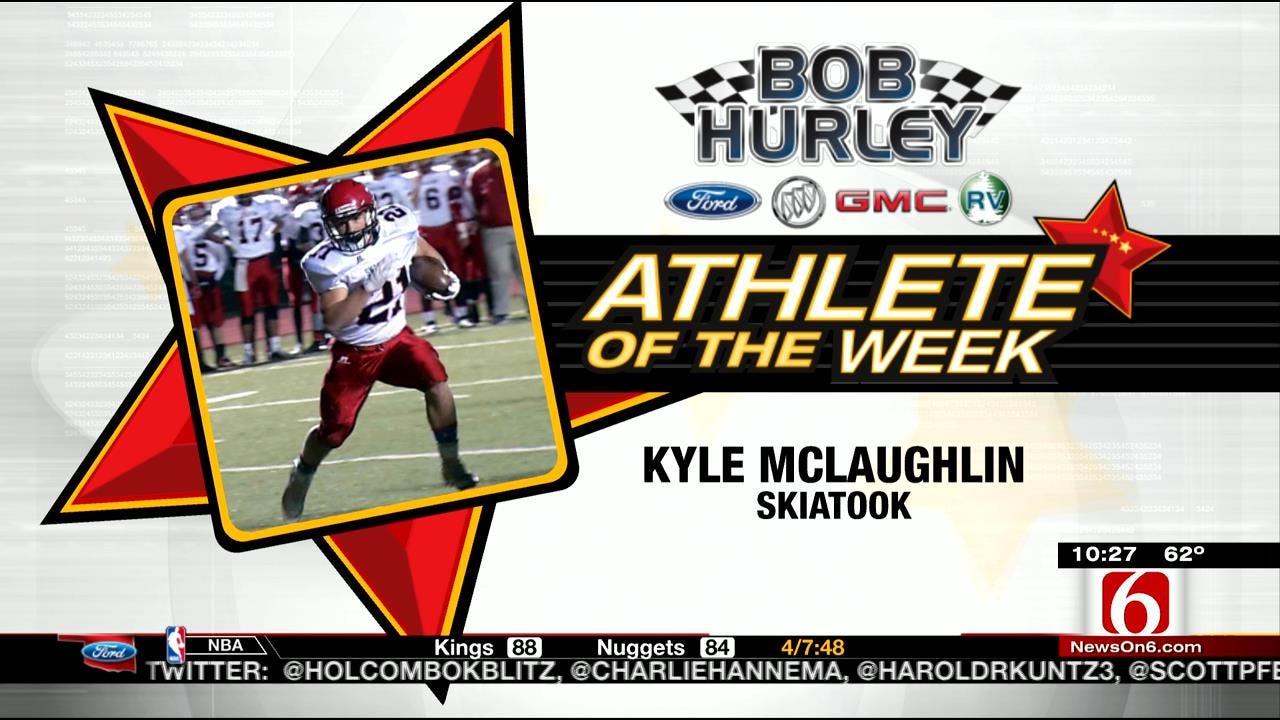 Athlete Of The Week: Skiatook's Kyle McLaughlin