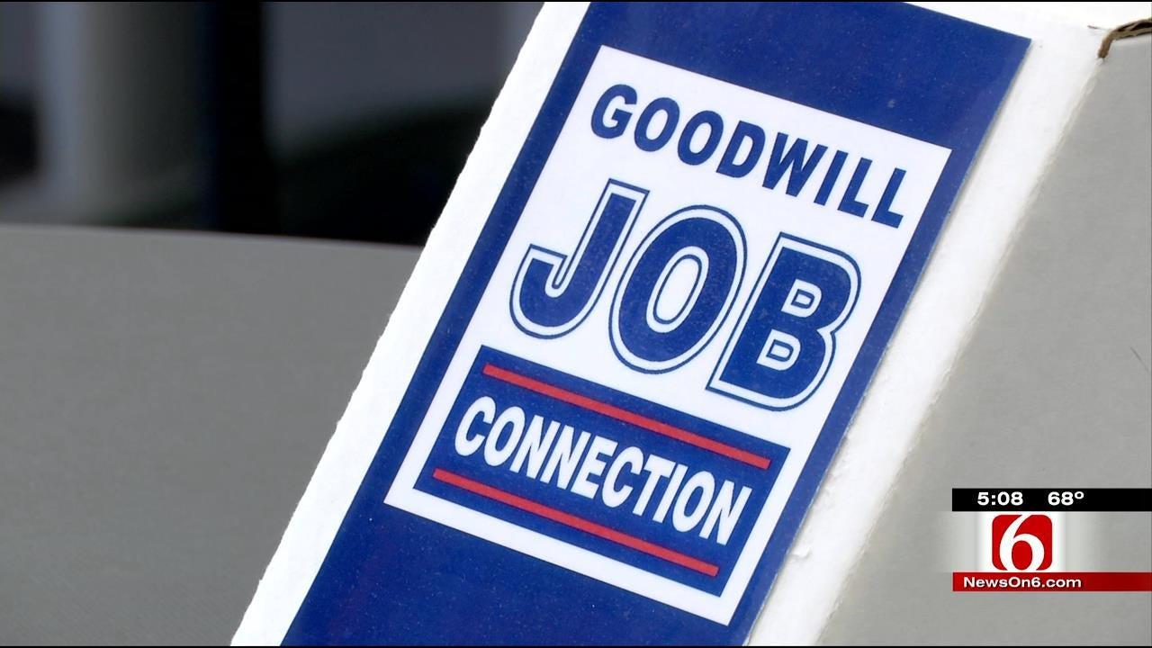Tulsans Seek Employment Through Goodwill's Job Connection