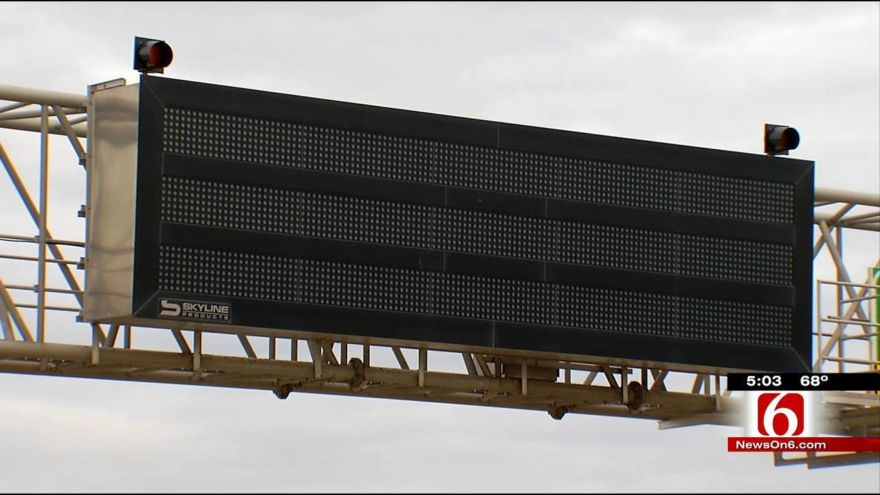 ODOT Highway Signs To Be Activated Soon In Tulsa