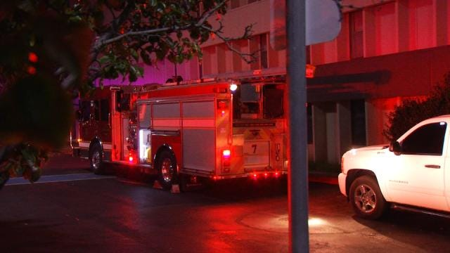 WEB EXTRA: Video From Scene Of Murdock Villa Apartments Grease Fire