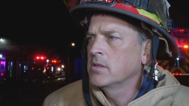 WEB EXTRA: Several Tulsans Lose Homes In Apartment Fire
