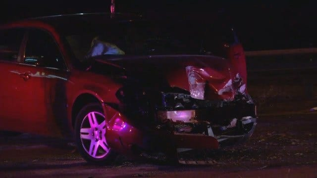 WEB EXTRA: Video From Scene Of Crash On Highway 75 At 61st Street South