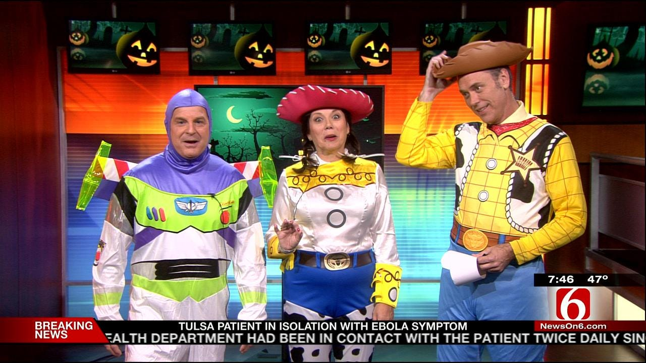 6 In The Morning Crew Shows Off Their 'Toy Story' Halloween Costumes