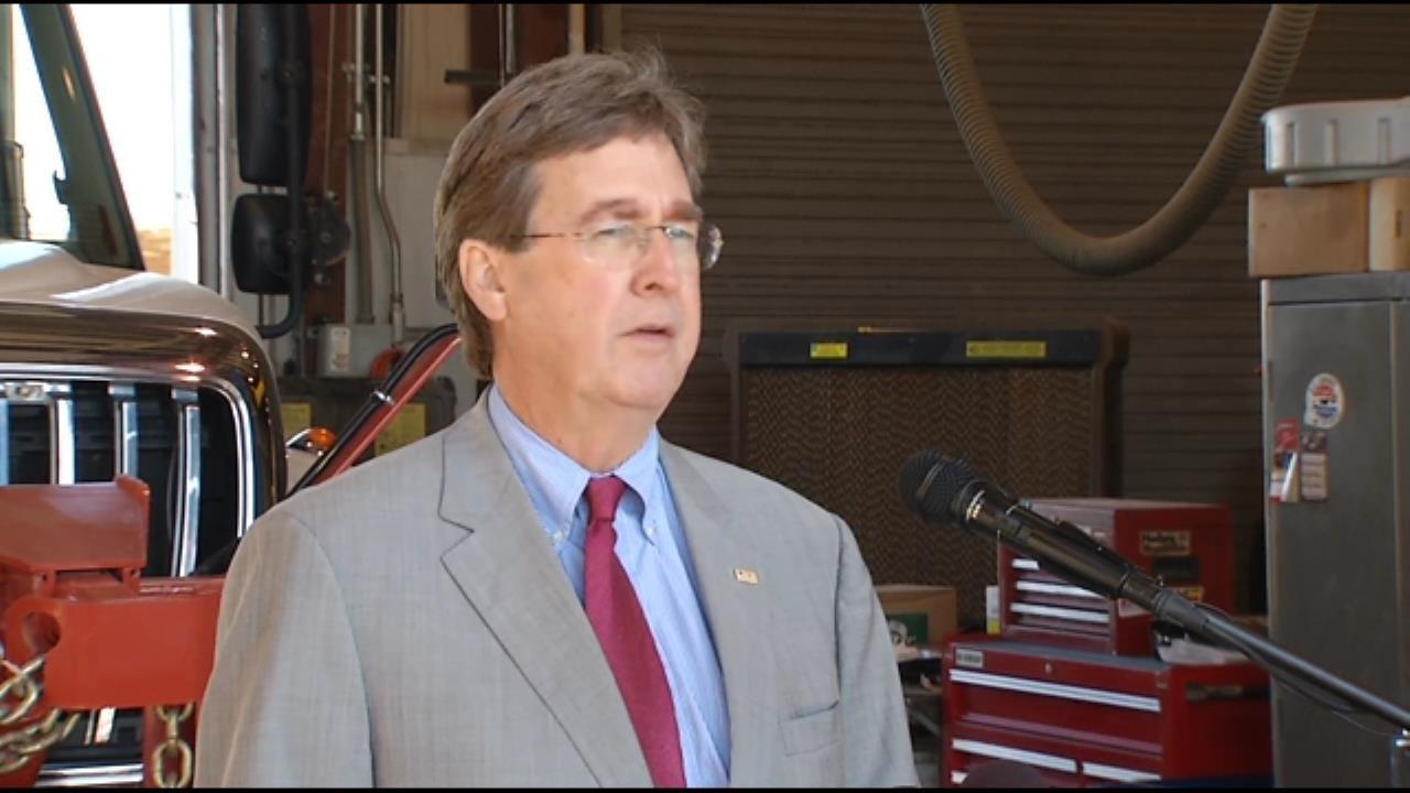 WEB EXTRA: Tulsa Mayor Dewey Bartlett Says City Is Ready For Winter