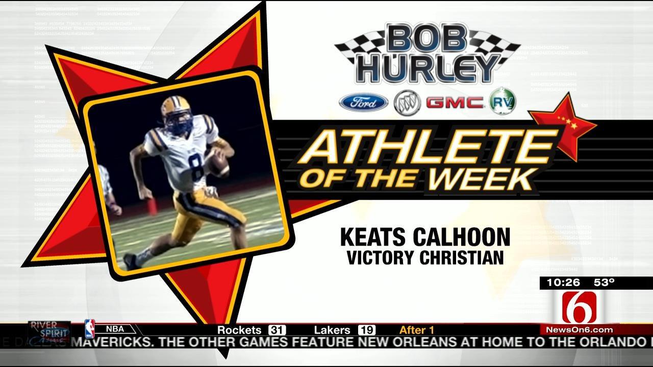 Athlete Of The Week: Victory Christian's Keats Calhoon
