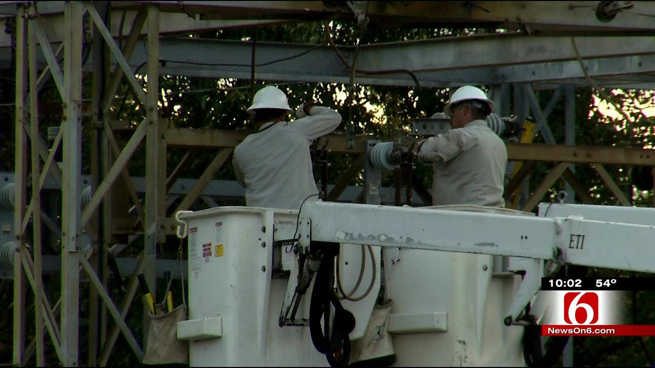 Hundreds In Wagoner Still Without Power After Substation Fire