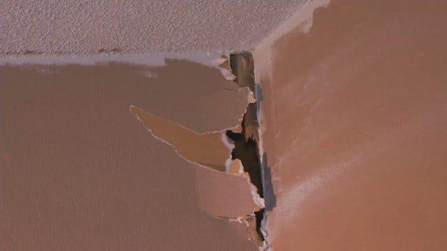 WEB EXTRA: Lightning Strike Damage Inside Tulsa Condominium