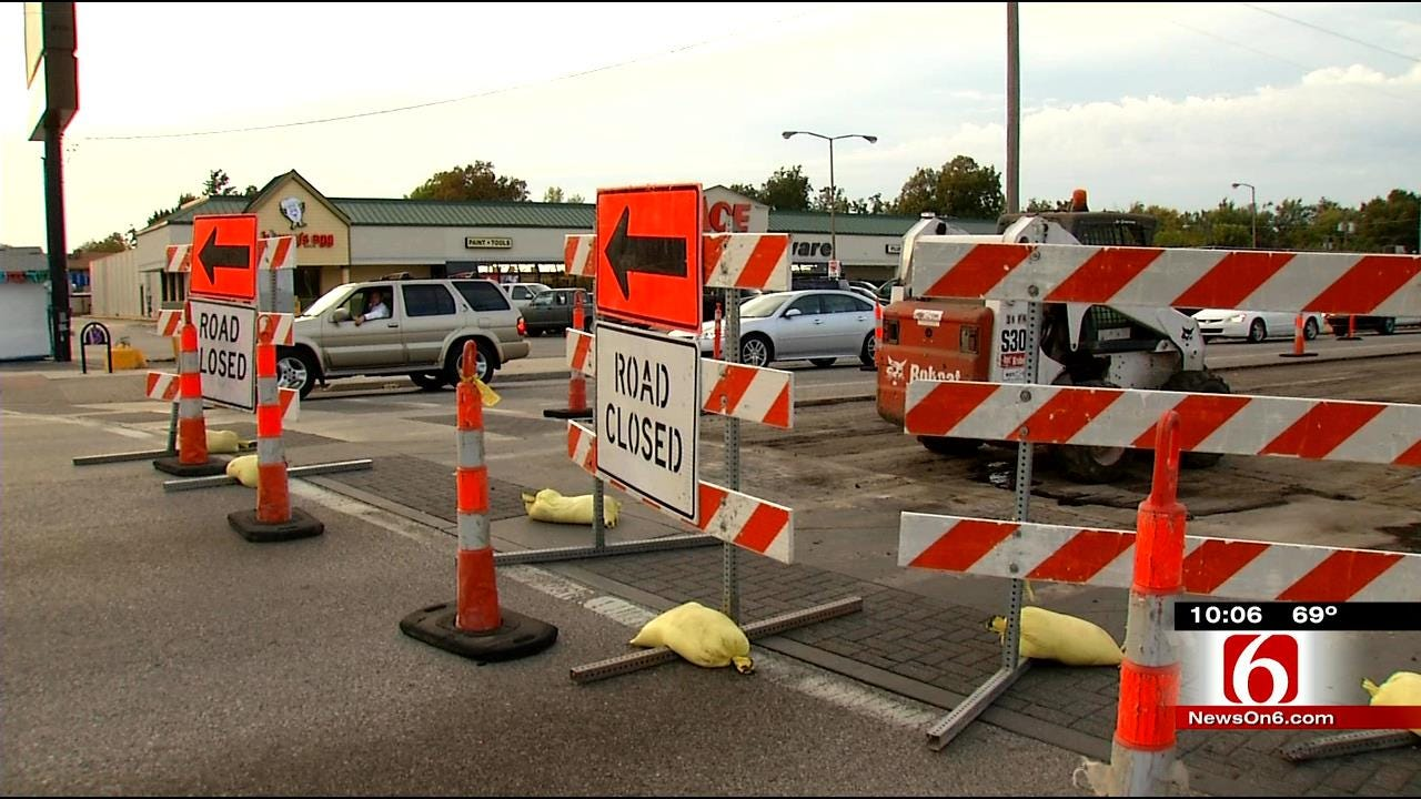 Tulsa Business Feel Effects Of Major Street Construction